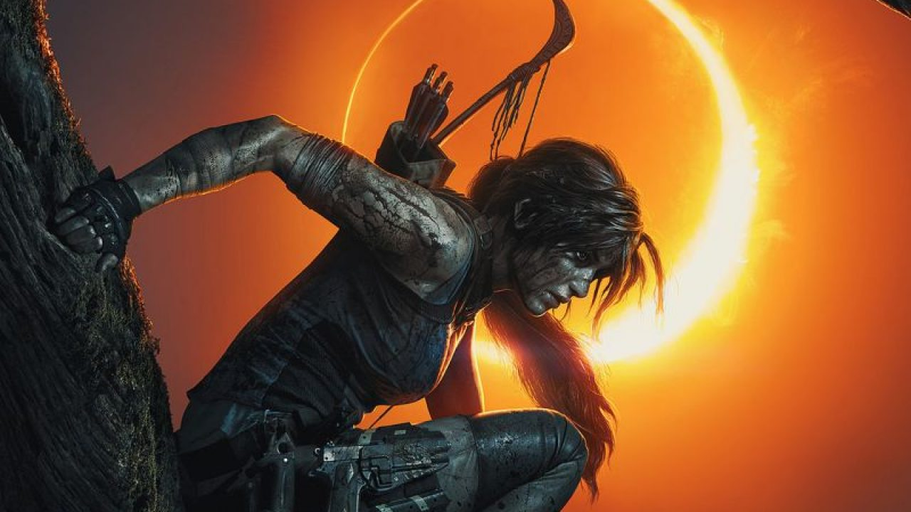 Shadow Of The Tomb Raider Art Reveals A Bloody Lara Croft