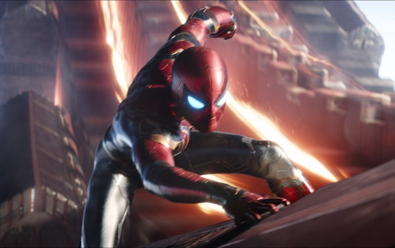 Spider-Man Clip from Infinity War and How the Film is Tracking