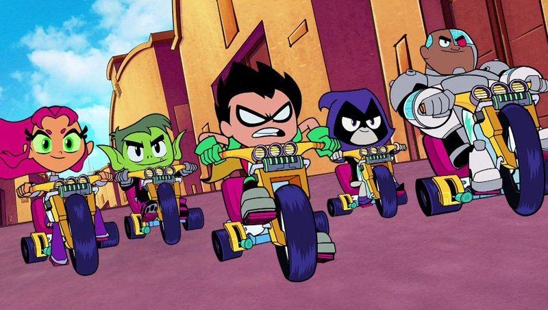 Watch the New Teen Titans GO! to the Movies TV Spot