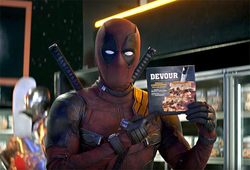 Deadpool Sells Out in New Devour Sandwich Commercial