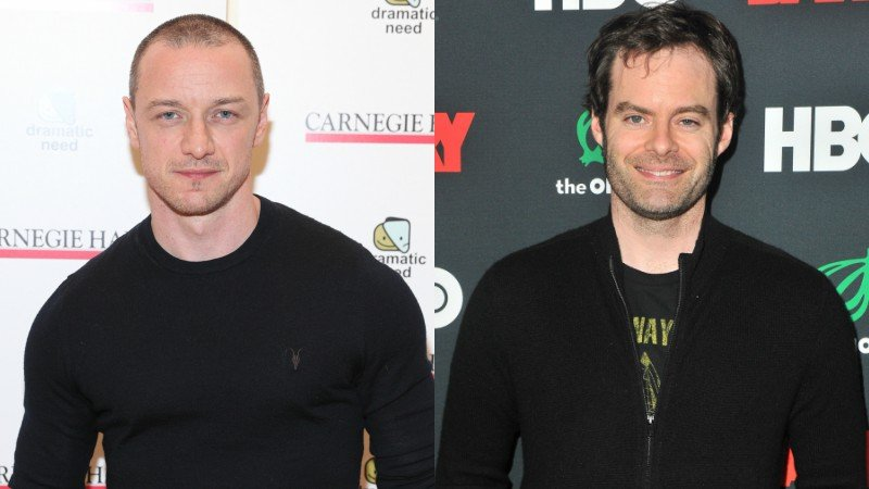 James McAvoy and Bill Hader in Talks for IT Chapter 2!
