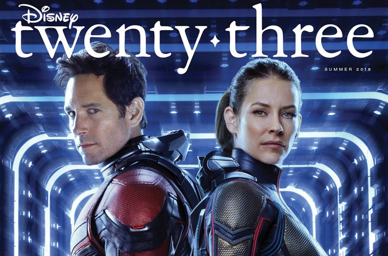 Ant-Man and The Wasp Stand Strong on New D23 Cover