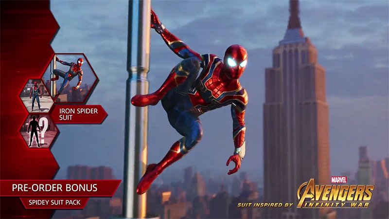 Infinity War's Iron Spider Suit Coming to Marvel's Spider-Man!