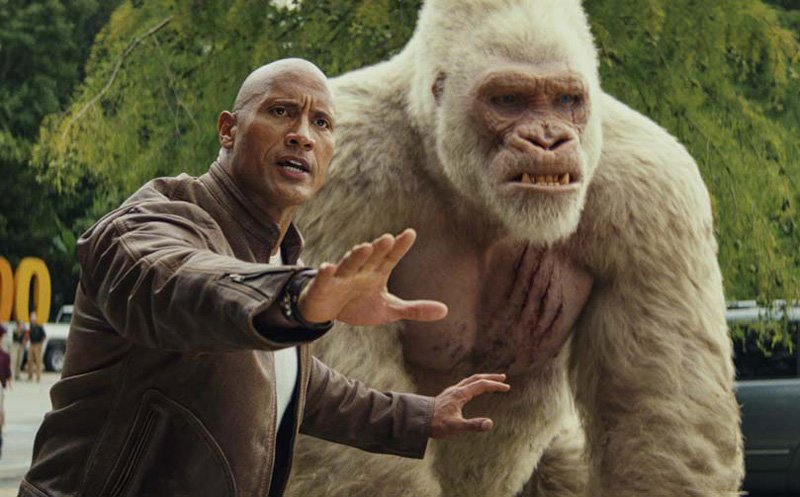 Rampage Box Office Grows to $148.6 Million Globally in First Weekend