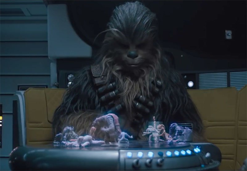 Chewie Plays Holochess and More in 2 New Solo Clips