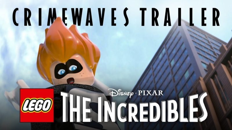 The Villains Take Over in a New LEGO The Incredibles Trailer