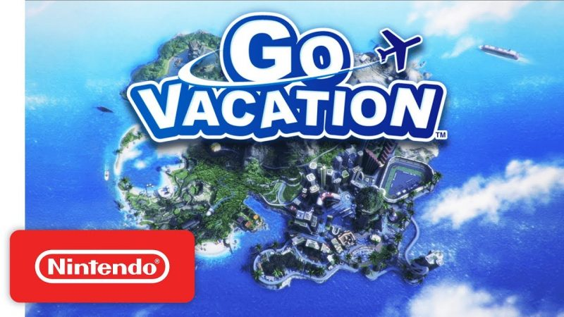 Nintendo Switch's GO VACATION Brings a Family Vacation to You Anywhere