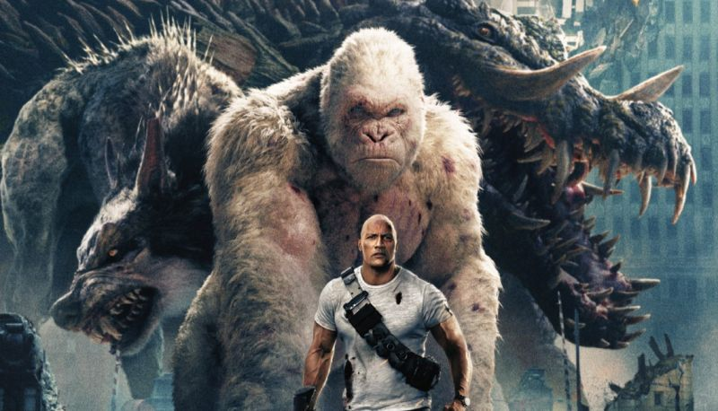 Rampage Blu-ray Set to Stomp Your Home in July