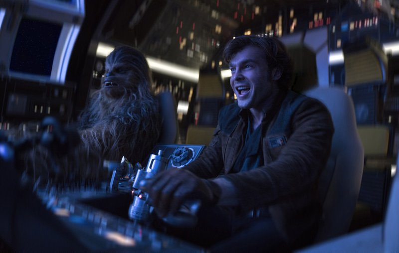 Chewie Takes Charge in a New Solo Clip