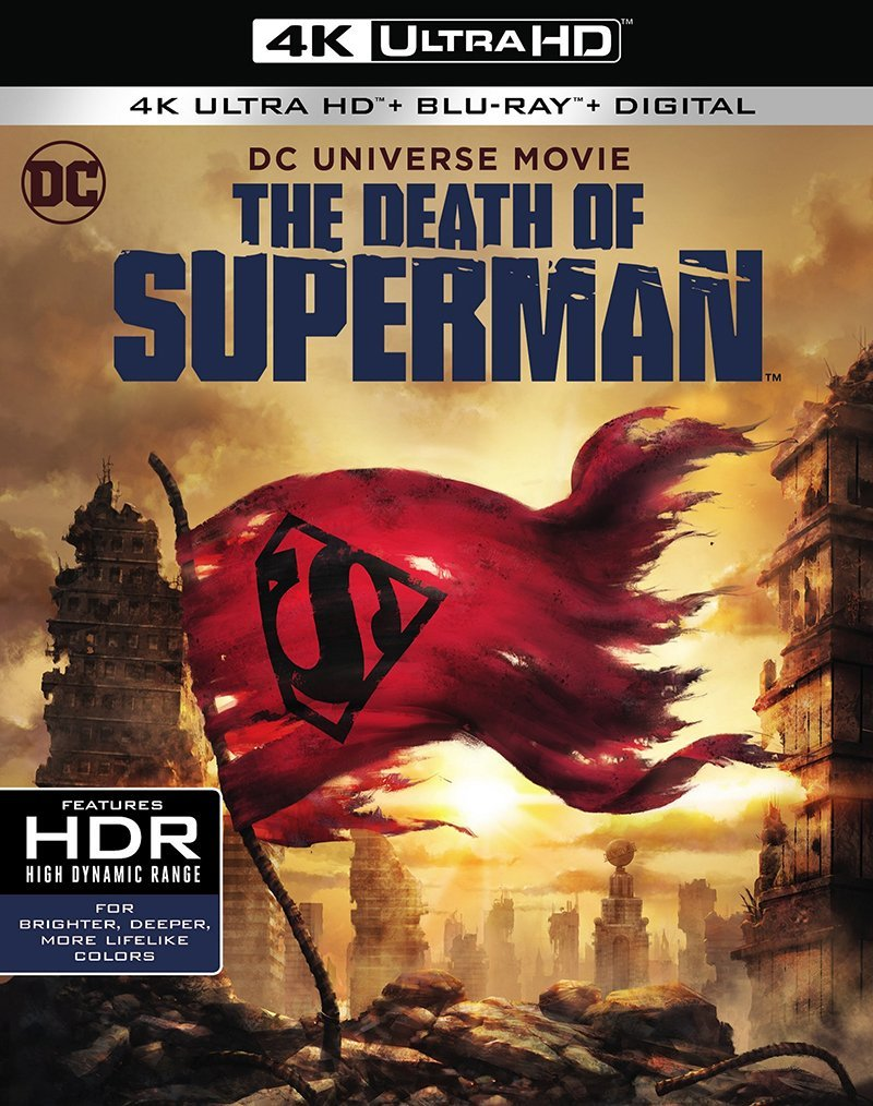 The Man of Steel Meets His Match in Death of Superman Trailer