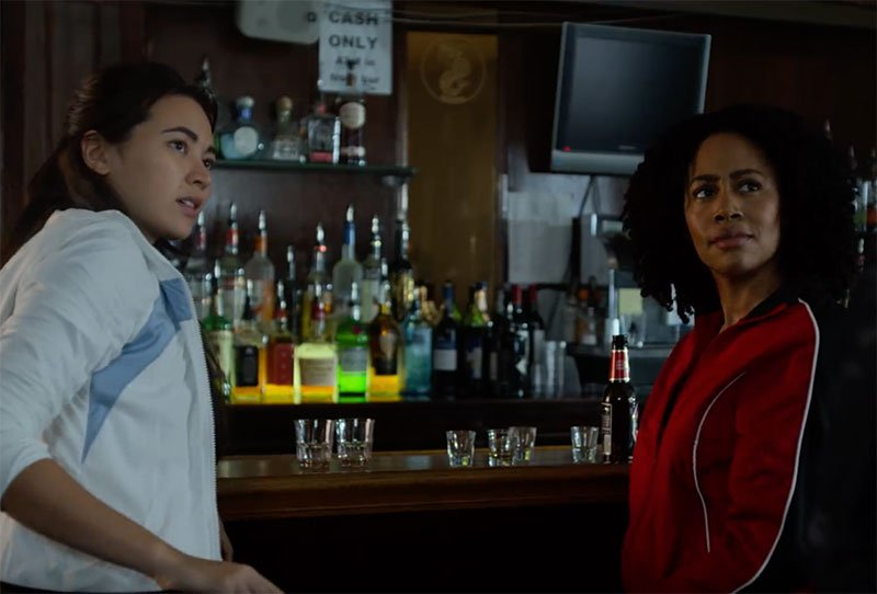 Misty Knight and Colleen Wing Crossover in Luke Cage Clip