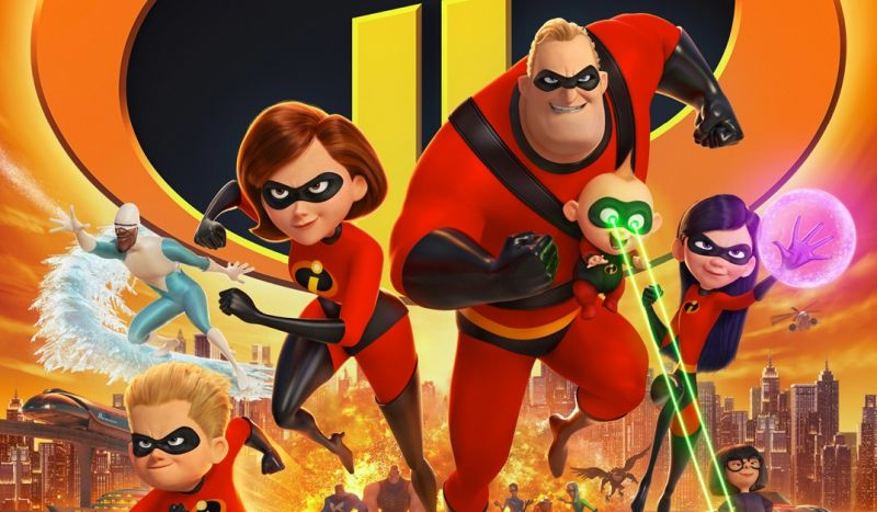 Incredibles 2 Thursday Night Previews Sets Record with $18.5 Million