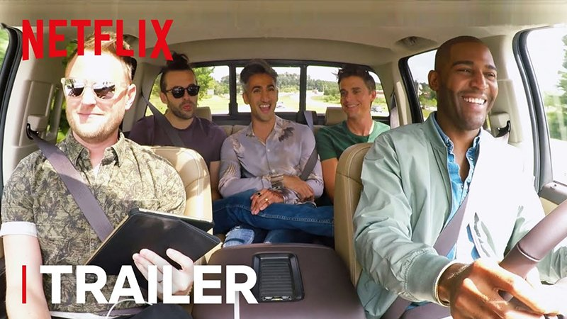 The Fab Five Are Back in the Queer Eye Season 2 Trailer!
