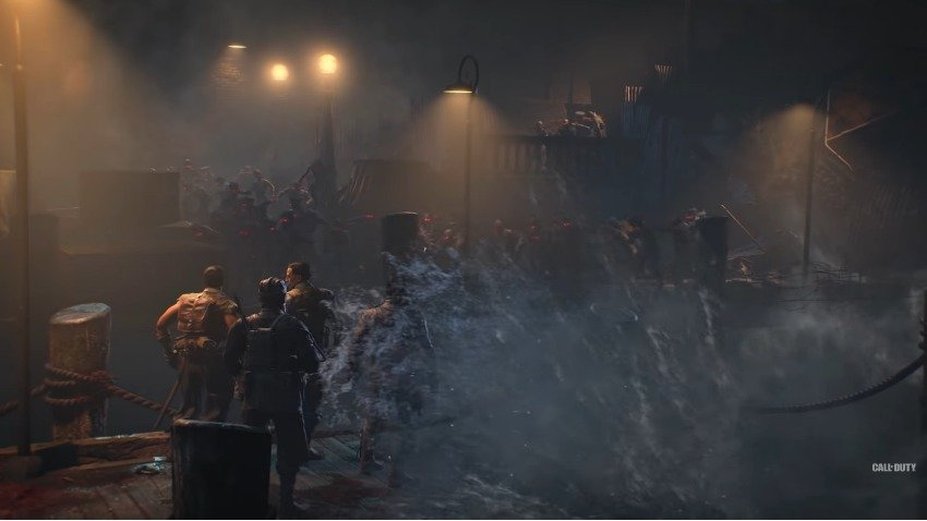 Comic-Con: Black Ops 4 Zombies' Blood of the Dead Trailer is Alive