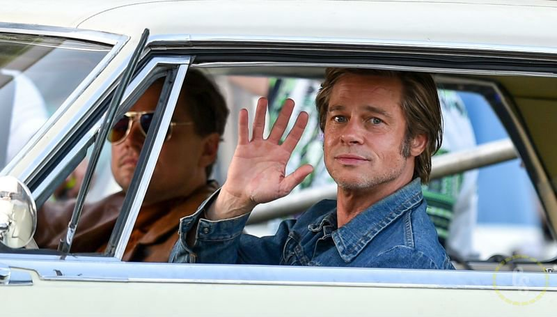 Once Upon A Time in Hollywood Set Photos with Pitt, DiCaprio, and Pacino