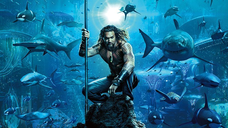 Aquaman Motion Poster Swims to the Surface