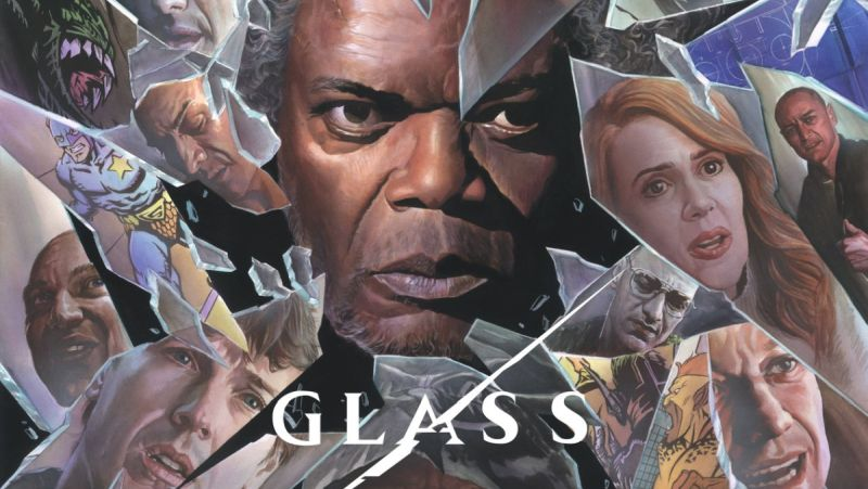 Check Out the Glass Comic-Con Poster by Alex Ross!