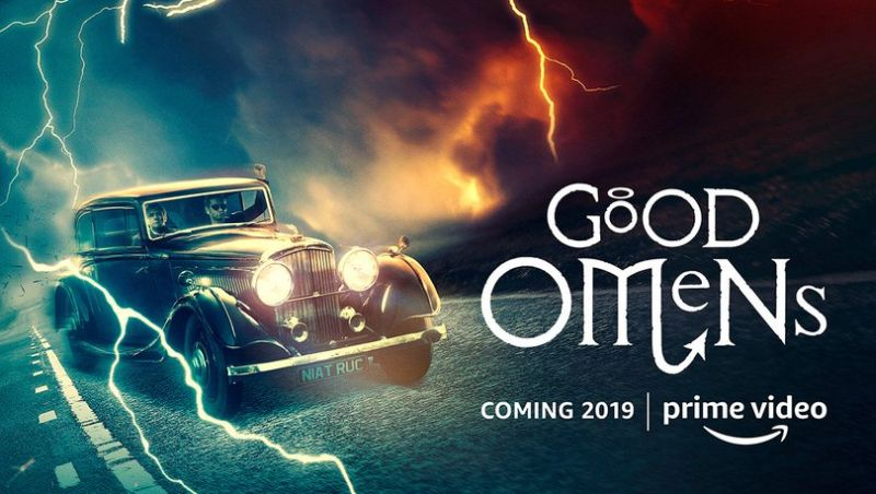 Comic-Con: Amazon Good Omens First Look Debuts!