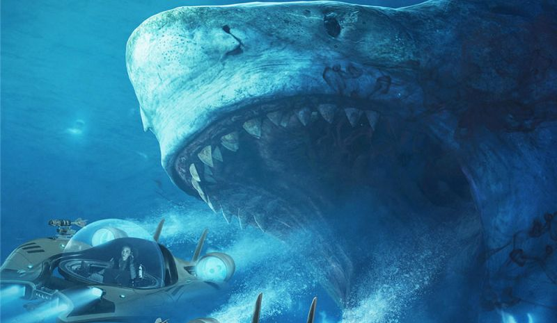 Open Wide for Two New The Meg Posters