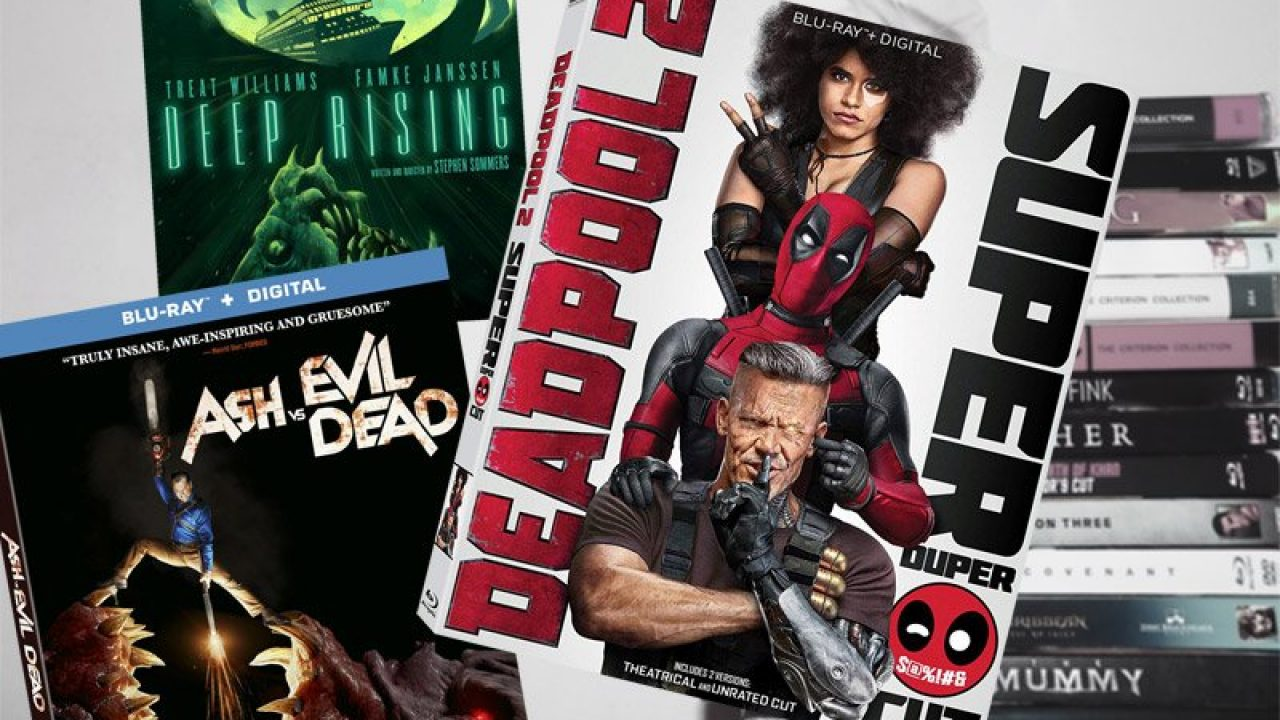 August 21 Blu-ray, Digital and DVD Releases
