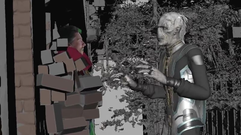 Infinity War VFX Breakdown Shows the Making of the Mega-Movie