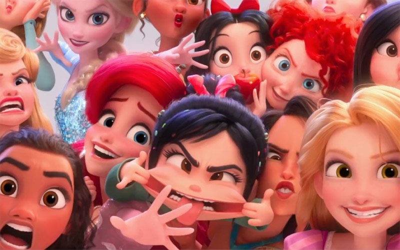 How the Disney Princesses Assembled for Ralph Breaks the Internet