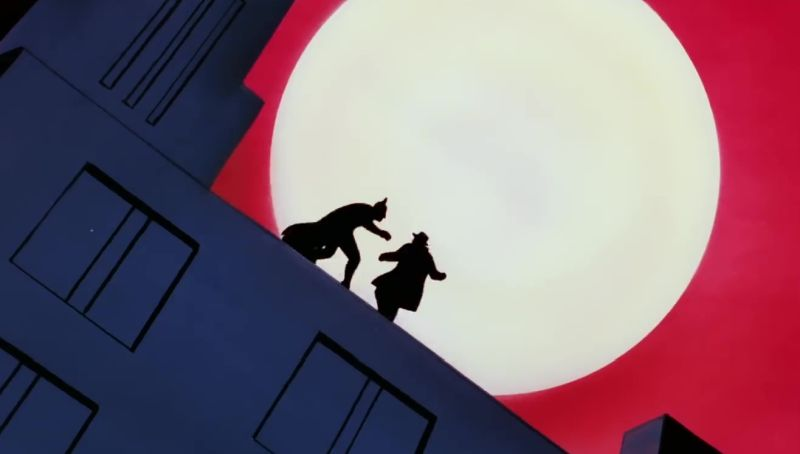 watch the remastered batman the animated series opening