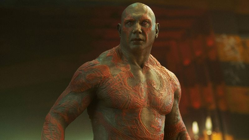 Bautista Refuses to Appear in Guardians 3 Unless Gunn's Script is Used