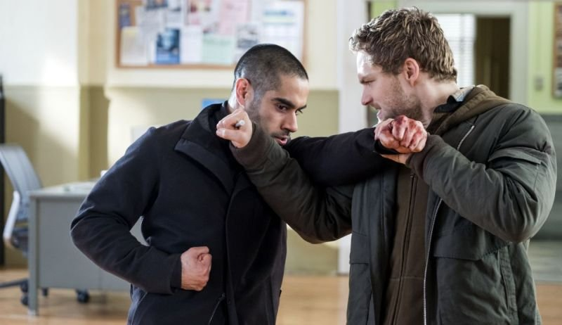 Danny and Davos Battle In New Iron Fist Photos