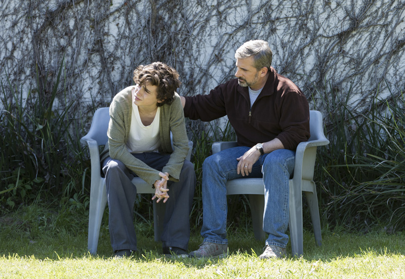 New Beautiful Boy Trailer With Steve Carell and Timothée Chalamet