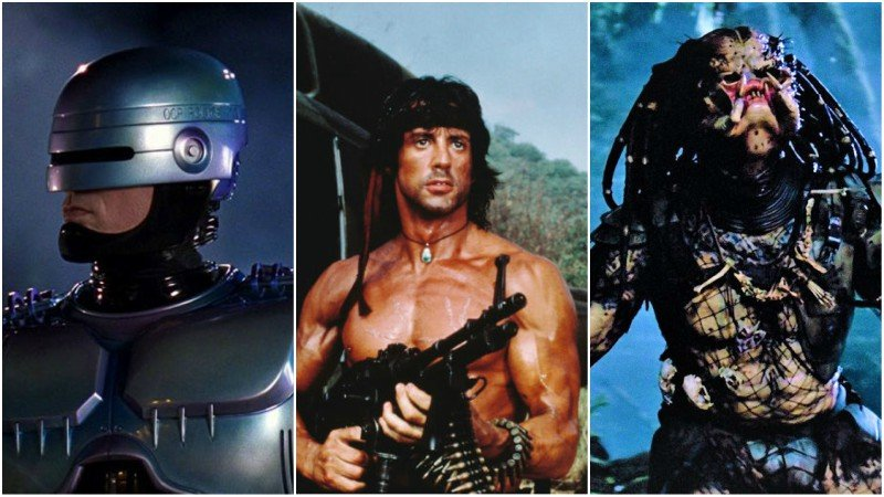 The 10 Best '80s Action Movies