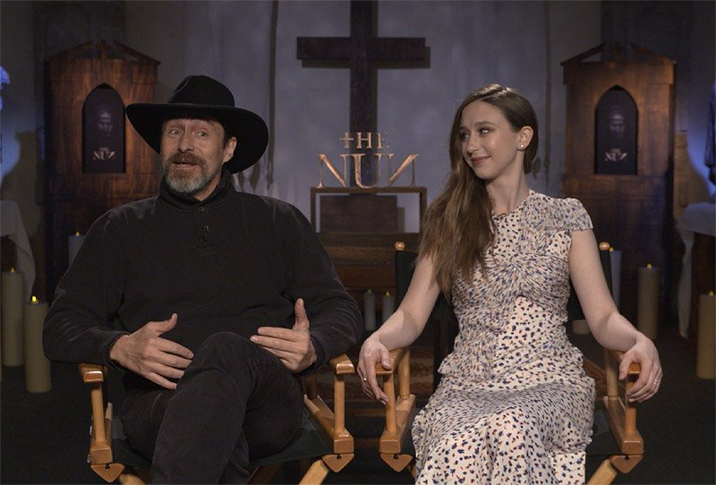 CS Video: The Nun Cast and Director on the Scariest Conjuring Yet