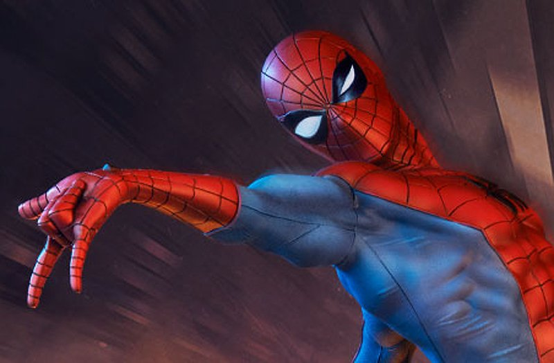 Exclusive First Look at New Sideshow Spider-Man Statue
