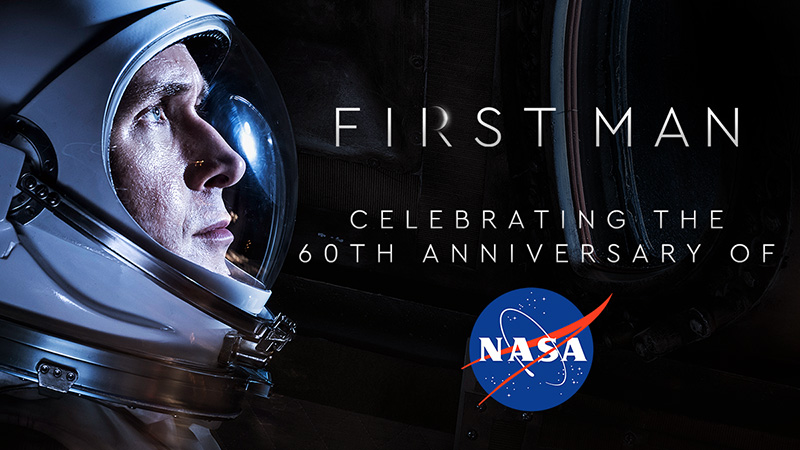 First Man Commemorates NASA's 60th Anniversary with Free Screenings