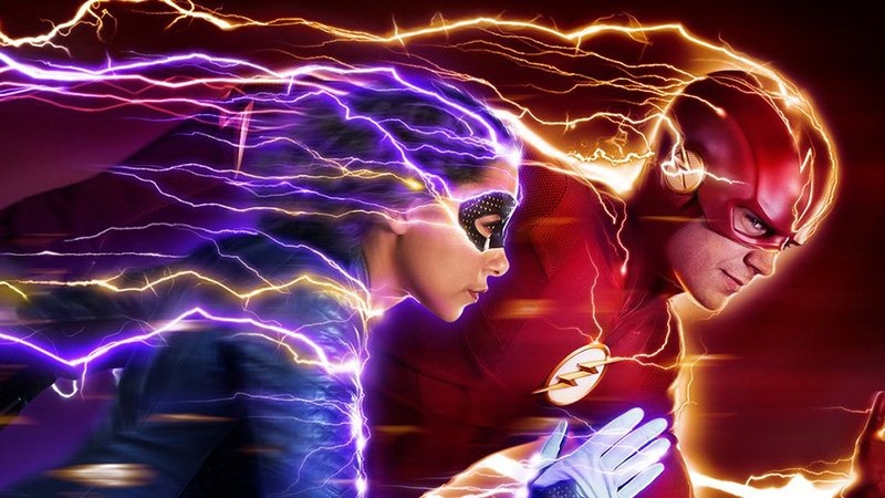 The Flash Season 5 Poster: fast, Present and Future