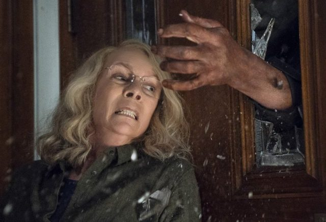 Michael Myers Attacks Laurie in the New Halloween Clip