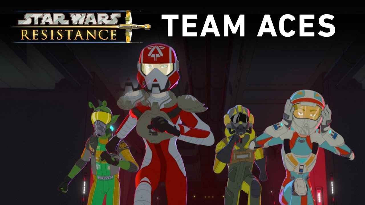 New Star Wars Resistance Video Introduces The Aces