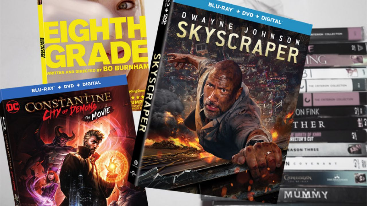 October 9 Blu-ray, Digital and DVD Releases