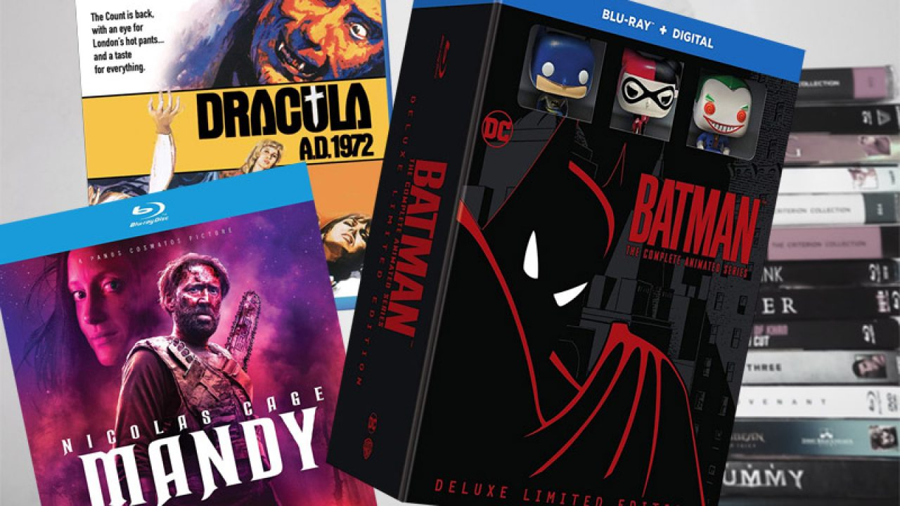 October 30 Blu-ray, Digital and DVD Releases