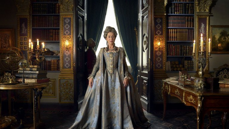 Helen Mirren's look revealed for Catherine The Great