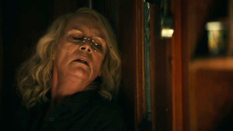 Halloween clips show Laurie Strode