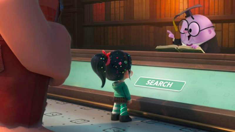 new clip from Ralph Breaks the Internet