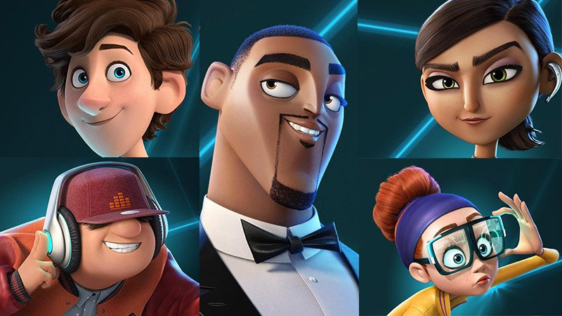 Fox Releases Spies in Disguise Posters Day Before Trailer Drop