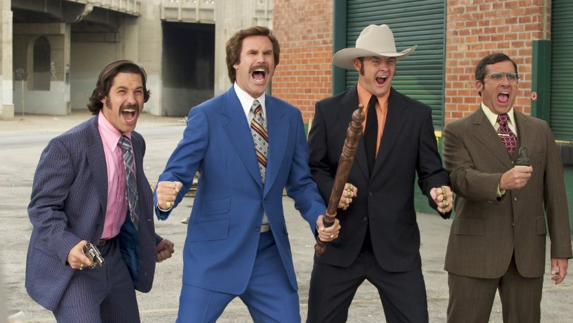 Ron Burgundy has given us some of the best comedic moments of recent memory. Simply put, bothAnchormanfilms are hysterical. Both movies hook you and are laugh out loud funny from start to finish.