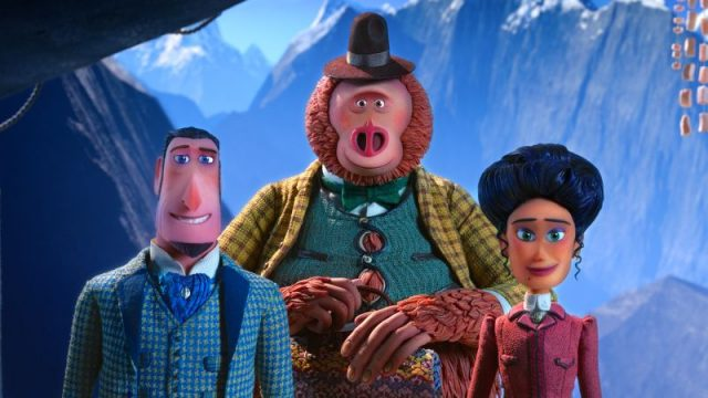 Meet Lionel Frost and Adelina in New Missing Link Featurettes