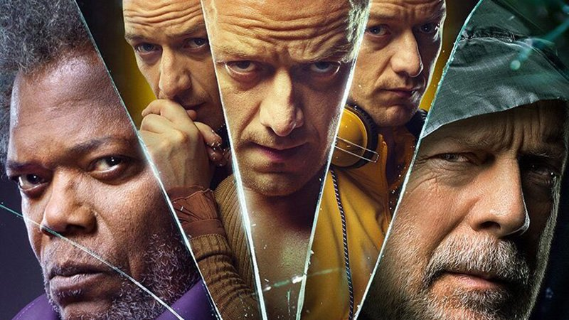 New Glass Poster Features Willis, Jackson & McAvoy in Shards of Glass