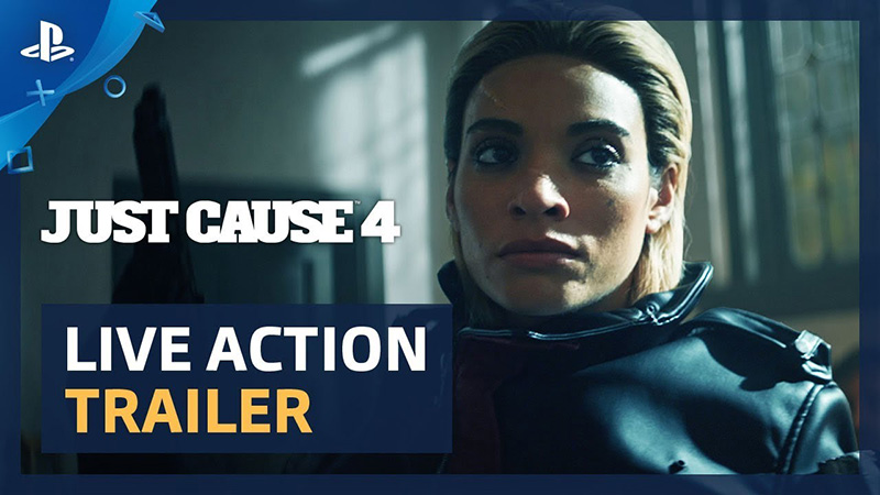 Just Cause 4 Trailer: Rico Rodriguez Takes on the Black Hand