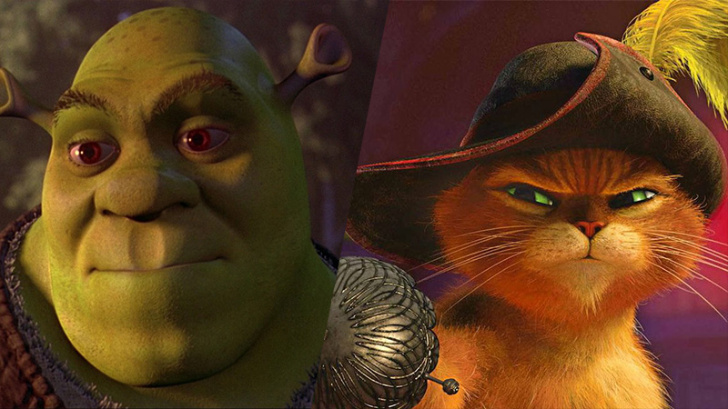 Universal Pictures Rebooting Shrek and Puss in Boots