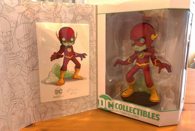 DC Collectibles Artists Alley Holiday Line Unboxing
