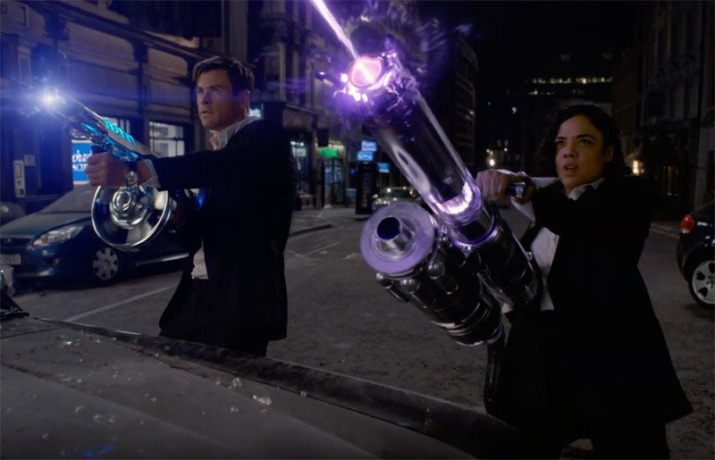 Just Look Right Here at the Men in Black International Trailer